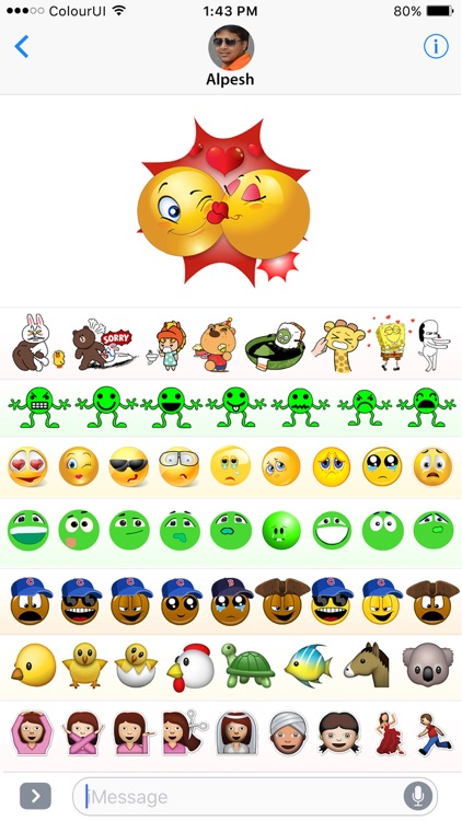 Stickers & Emojis Stock for iMessage