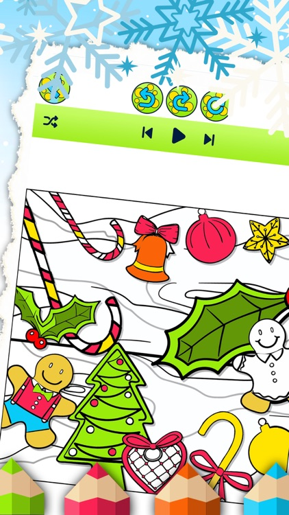 Christmas Colorfly – Free Color.ing Book for Kids screenshot-4