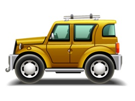 Cartoon Cars stickers pack for iMessage
