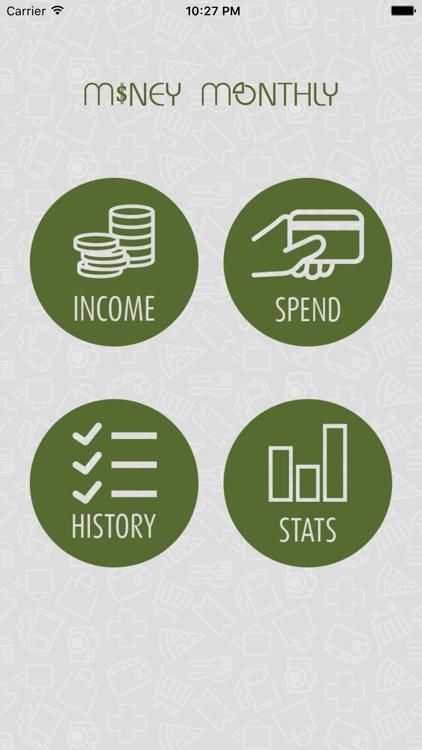 Money Monthly Budget