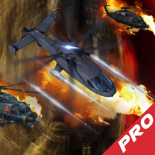 A Helicopter Driving Fast In Combat Pro - A Helicopter Hypnotic X-treme Game