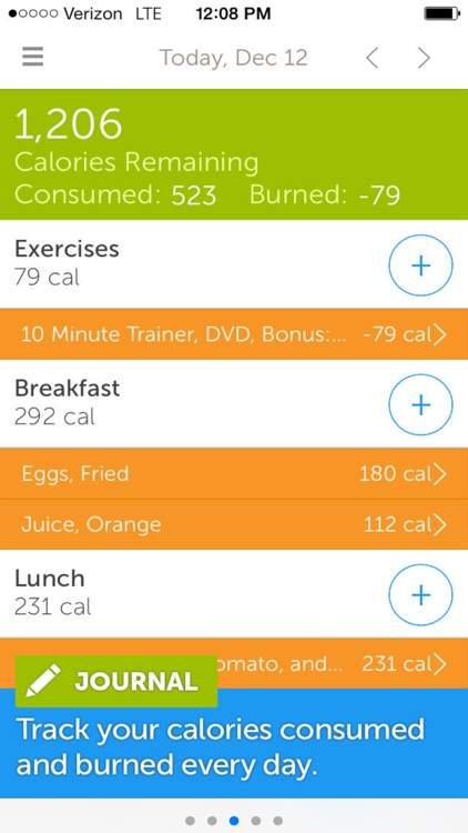 Calorie Counter,Dining Out,Food,Exercise