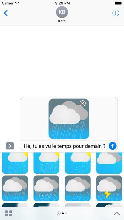 Meteociel Weather Stickers Pack