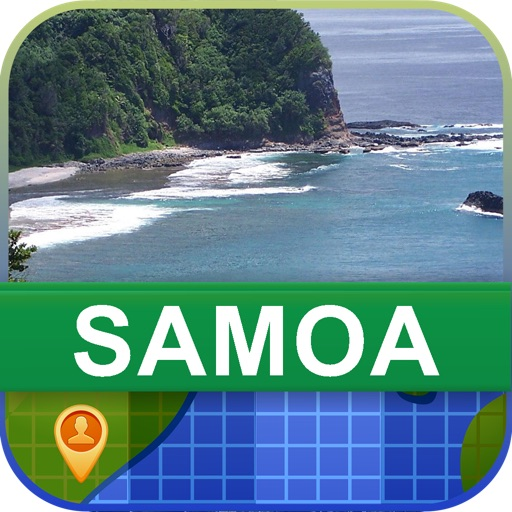Offline Samoa Map - World Offline Maps