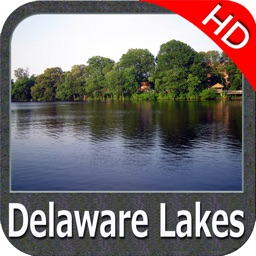 Delaware Lakes HD GPS Map Navigator
