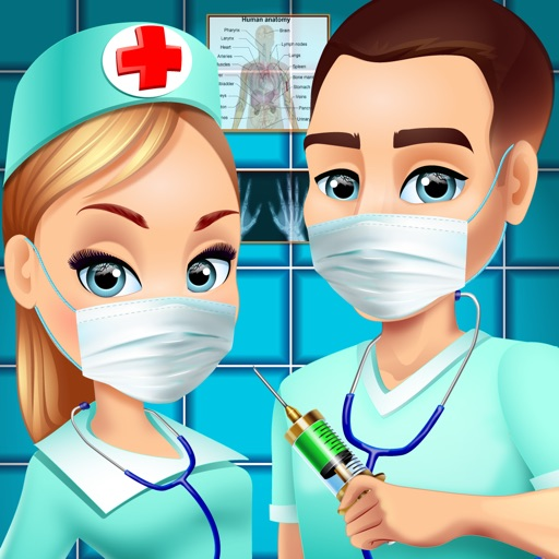 Hospital Adventure - Doctor Salon & Kids Games