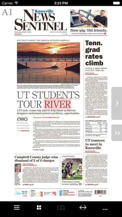 Knoxville News Sentinel E-Edition