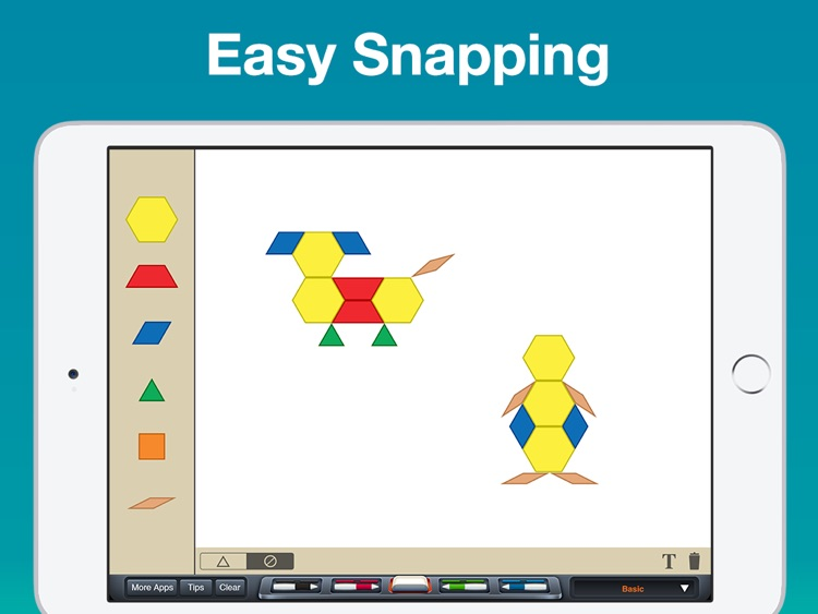 Pattern Blocks Manipulative screenshot-2