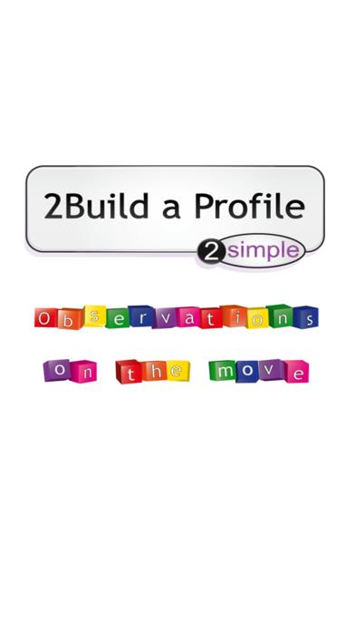 2Simple 2Build a Profile (EYFS KS1 record keeping) screenshot one