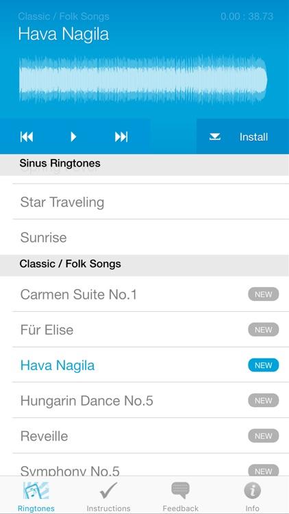 Ringtones for iPhone (Full Version) screenshot-4