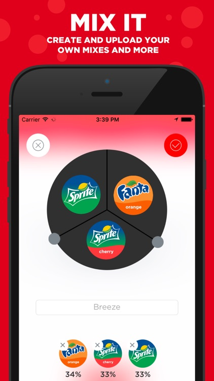 Coca-Cola Freestyle: discover & create drink mixes screenshot-0