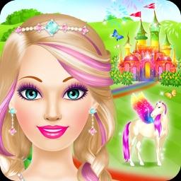 Magic Princess - Girls Makeup & Dressup Salon Game