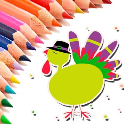 Thanksgiving Coloring Pages - Happy Holiday