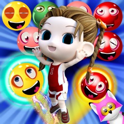 Bubble Shooter Birds Garden Girl Extreme!