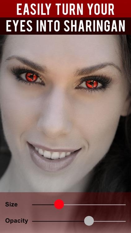 Sharingan Eye Contacts for Naruto