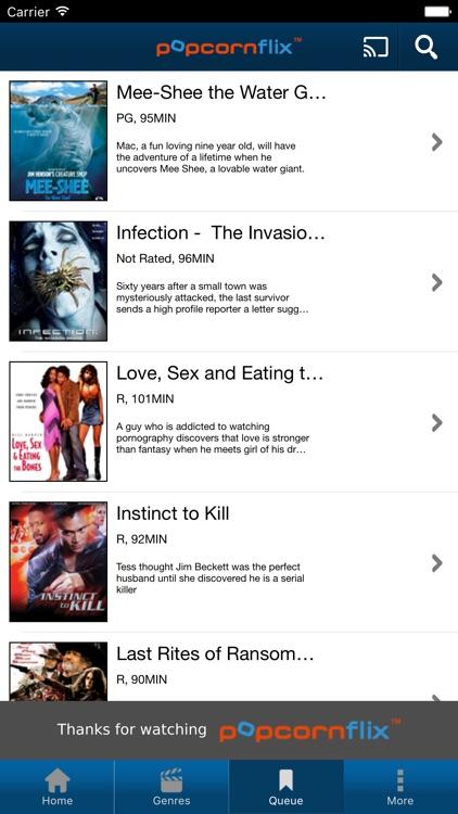 Popcornflix - Free Movies screenshot-4