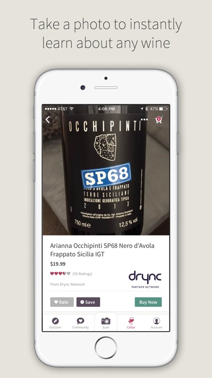 Drync: The better way to buy wine