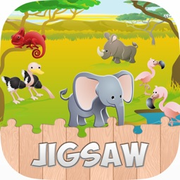 Animals Jigsaw Puzzle For Toddles & Kids