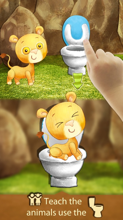 Potty Training Kids Learning With Animals App screenshot-4