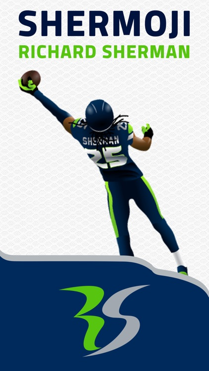 SHERMOJI - Official Richard Sherman Emoji Keyboard screenshot-0