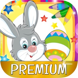 Paint Easter egg decorate & color bunnies - Pro