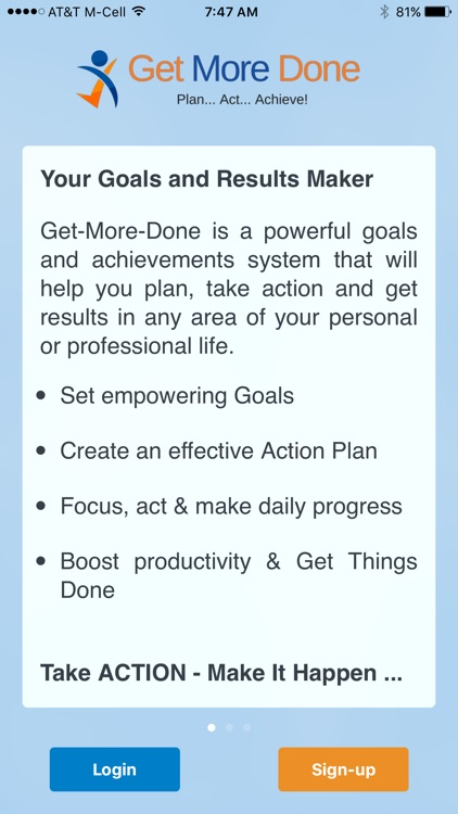 Get More Done - Life Goals Productive GTD Planner screenshot-4