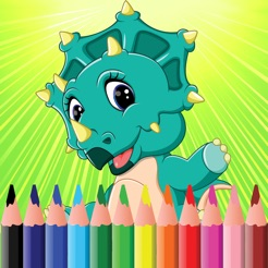 Dinosaur Coloring Book For Kids Adults Games Hd 4