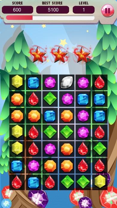 ジュエルワールドスター - ジュエルバブル無料のパズルゲームの破裂スプラッシュのスクリーンショット2