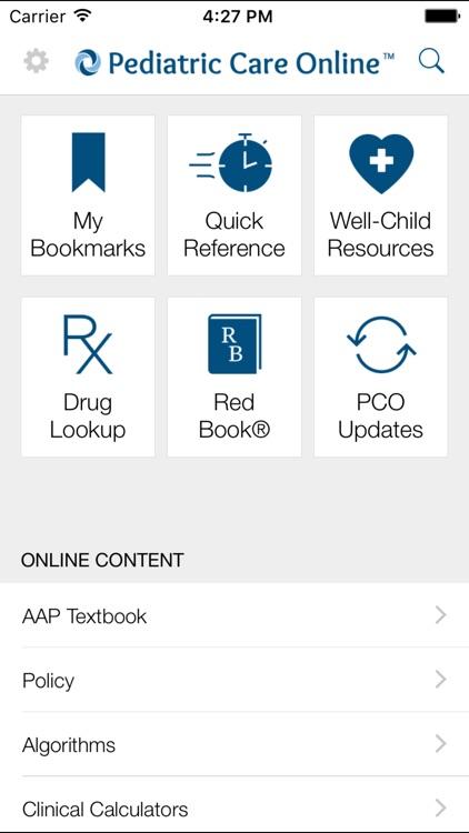 AAP Pediatric Care Online (PCO)