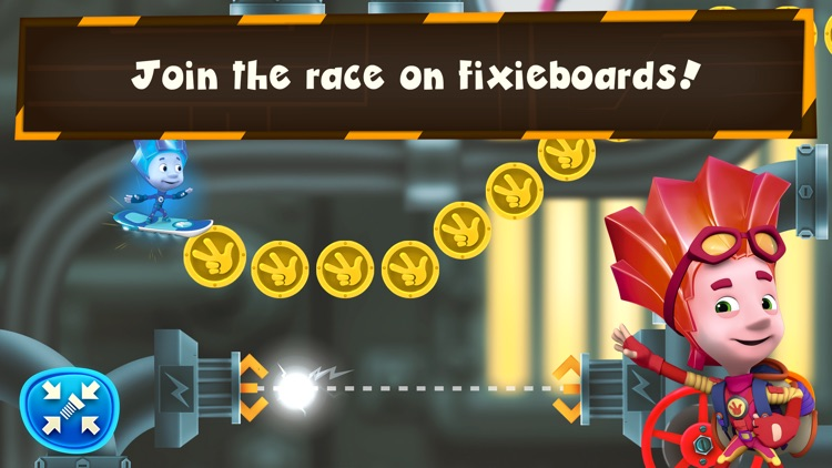 Fixie Surfer endless runner, racing games for kids