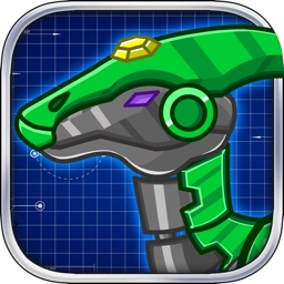 Steel Dino Toy:Mechanic Hadrosaurs-2 player game
