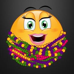 Mardi Gras Emoji Stickers