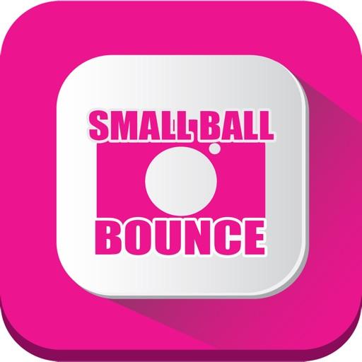 Small ball bounce icon