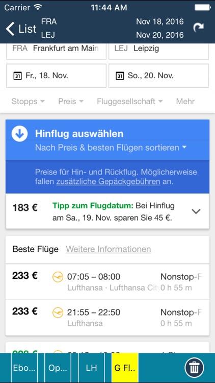 Leipzig Halle Airport Pro (LEJ) + Flight Tracker screenshot-4