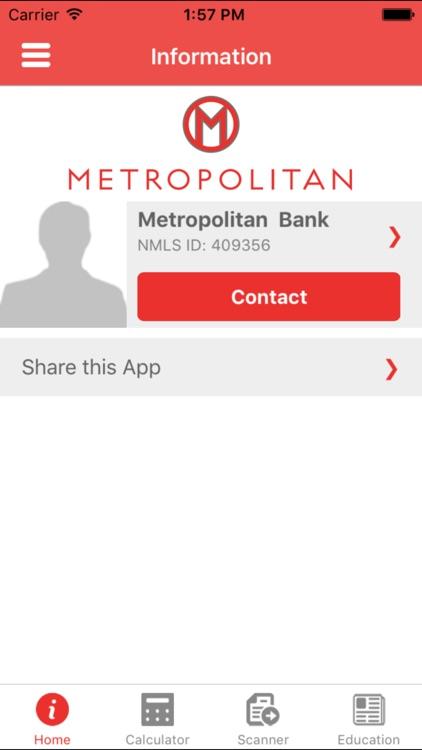 Metropolitan Mortgage