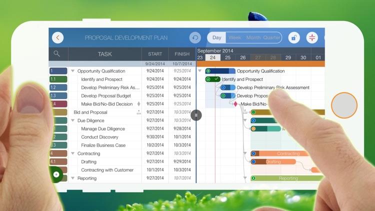 QuickPlan - Project Management,Plan,Schedule,Gantt screenshot-4