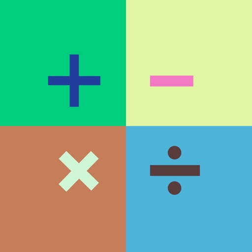 Color of Math - Quickly math answer games by yang xiaobin