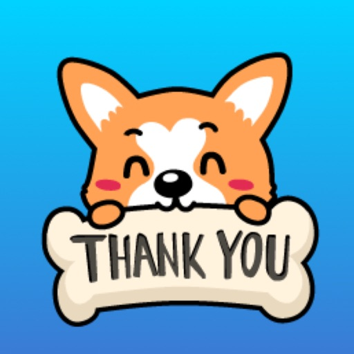 Lucy The Welsh Corgi Sticker for iMessage