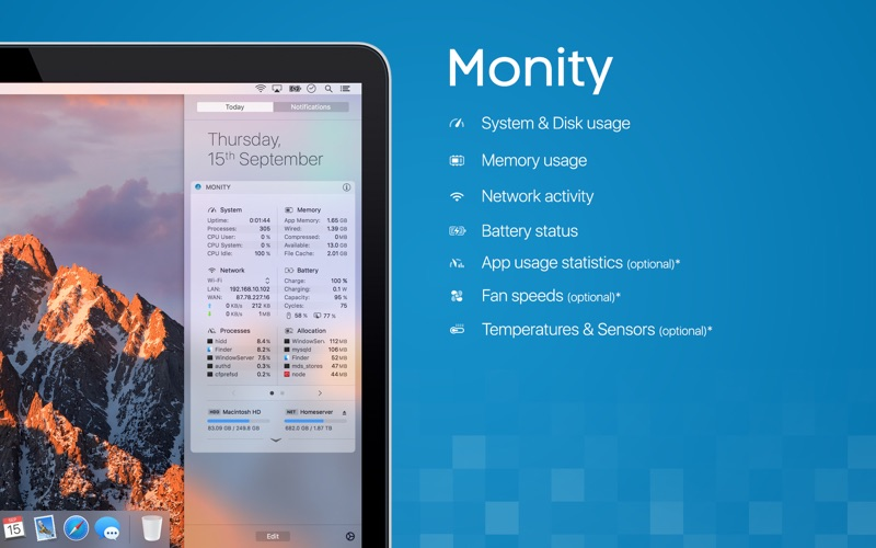 Monity Screenshot
