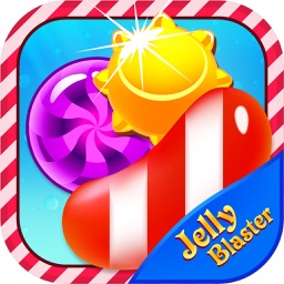 Jelly Blaster : Match 3 jewel candy burst puzzle