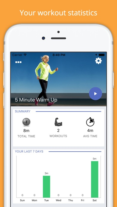 5 Minute WARM UP Pre-Workout Challenge Free