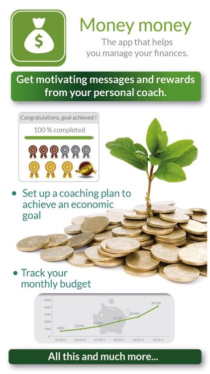 Money Money:  To track expenses & save money