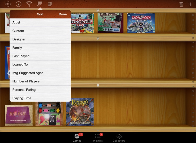 Board Game Collectors for iPad screenshot-3