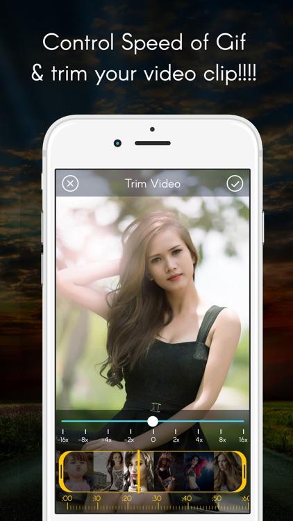 GIF maker with video to GIF and photos to GIF Animated gif maker screenshot-3
