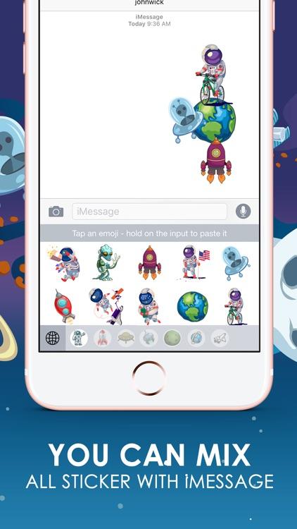 Galaxy Emoji Stickers Hd Keyboard Themes ChatStick
