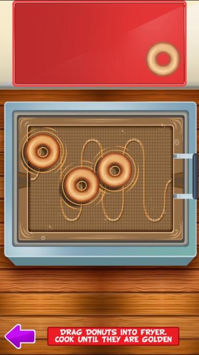 Awesome Ice Cream Donut Maker Cake Baking Dessert Screenshot