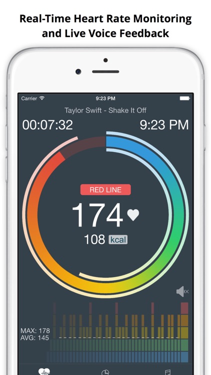 MotiFIT - Workout Tracker + Heart Rate Monitor