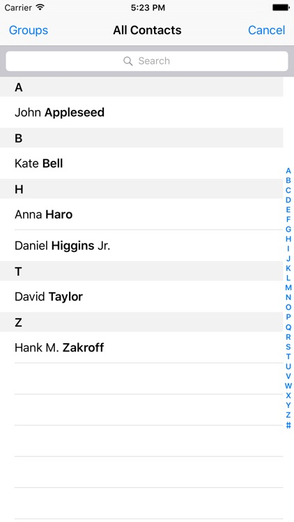 iEDL - Email Distribution List screenshot-3