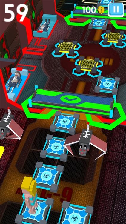 Virus Zombie Run - escape lab screenshot-4