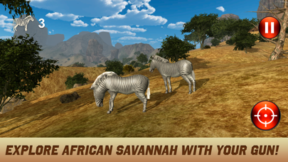 Wild Safari Hunting Simulator 3D screenshot one